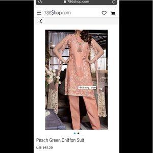 Pakistani brand new dress